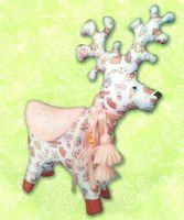 """Набор для шитья из ткани """"Снежный олень"""""""