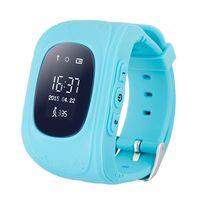 Детские Часы SmartBabyWatch Q50 (голубые)
