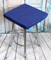 """Подушка на стул """"Velours Cuadro"""" (33х33 см; синяя)"""