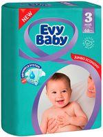 """Подгузники """"Evy Baby Midi 3"""" (5-9 кг; 68 шт.)"""