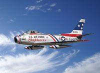 """Истребитель """"F-86F Sabre Jet"""" (масштаб: 1/32)"""