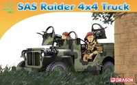 "Внедорожник ""SAS Raider 4x4 Truck"" (масштаб: 1/72)"