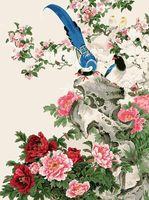 "Картина по номерам ""Райские птицы"" (300х400 мм)"