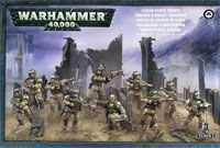 "Набор миниатюр ""Warhammer 40.000. Astra Militarum Cadian Shock Troops"" (47-17)"
