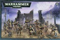 "Набор миниатюр ""Warhammer 40.000. Astra Militarum Cadian Shock Troops"" (47-17)"