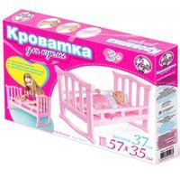 Кроватка для куклы (37 сантиметров)