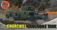 "Огнеметный танк ""Churchill Crocodile"" (масштаб: 1/76)"