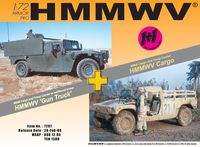 "Набор миниатюр ""M998 Cargo Truck & M998 Gun Truck"" (масштаб: 1/72)"
