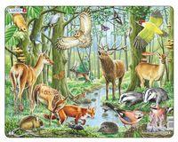 "Пазл-рамка ""Европейский лес"" (40 элементов)"