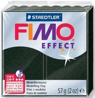 """Глина полимерная """"FIMO Effect"""" (черный перламутр; 57 г)"""