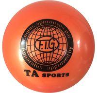 Мяч для художественной гимнастики RGB-101 (15 см; оранжевый)