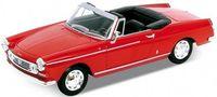 """Модель машины """"Welly. Peugeot 404"""" (масштаб: 1/34-39)"""