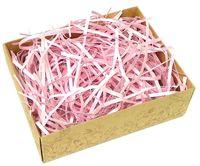 Стружка бумажная (розовый перламутр; 100 г)