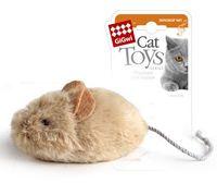 """Игрушка для кошек """"Мышка"""" со звуковым чипом (13 см)"""