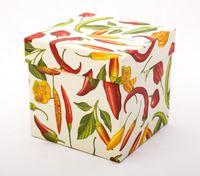 "Подарочная коробка ""Chilli Peppers"" (11х11х11 см)"
