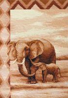 "Вышивка крестом ""Слоны"" (205х315 мм)"