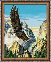 """Алмазная вышивка-мозаика """"Горный орел"""" (400х500 мм)"""