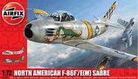 """Истребитель """"North American F-86F/E(M)"""" (масштаб: 1/72)"""