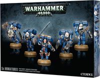 "Набор миниатюр ""Warhammer 40.000. Space Marine Vanguard Veteran Squad"" (48-18)"