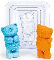 """Форма для изготовления мыла """"Медведь Тедди"""""""