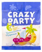 """Мармелад """"Crazy Party. Тропические фрукты"""" (70 г)"""