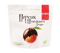 """Персик в шоколадной глазури """"Pupo"""" (200 г)"""