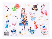 """Набор наклеек №148 """"Алиса в стране чудес"""""""