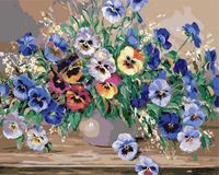 "Картина по номерам ""Долина цветов"" (400х500 мм)"