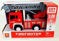 """Инерционная машинка """"Пожарная служба"""" (со световыми и звуковыми эффектами; арт. WY552B)"""