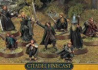 """Миниатюра """"LotR/The Hobbit. Finecast: The Fellowship of the Ring"""" (02-40)"""