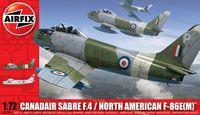 "Истребитель ""Canadair Sabre F.4 / North American F-86E(M) Sabre"" (масштаб: 1/72)"