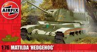 """Средний пехотный танк """"Matilda Hedgehog"""" (масштаб: 1/76)"""