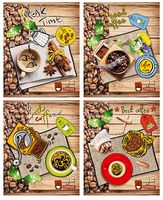 "Тетрадь в клетку ""Best Coffee"" (80 листов)"