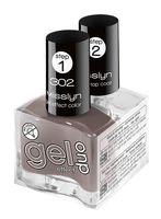"""Набор лаков для ногтей """"Gel Effect Duo"""" (тон: 302)"""