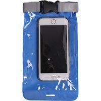Гермочехол для смартфона и документов ПВХ литой (голубой)