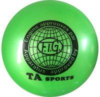 Мяч для художественной гимнастики RGB-101 (19 см; зелёный)