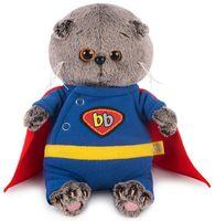 """Мягкая игрушка """"Басик Baby в костюме супермена"""" (20 см)"""