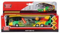 """Автобус инерционный """"Аэропорт"""" (со световыми и звуковыми эффектами; арт. CT10-025-1)"""