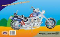 """Сборная деревянная модель """"Чоппер"""" (Мотоцикл Харлей-1)"""