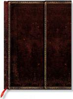 """Записная книжка Paperblanks """"Черная Марокканская кожа"""" нелинованная (формат: 210*300 мм, гранде)"""