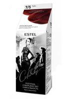 """Краска-уход для волос """"Estel Celebrity"""" (тон: 7.5, рубин)"""