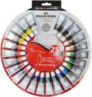 """Набор красок масляных """"Color Wheel"""" (24 цвета х 12 мл)"""