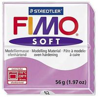 "Глина полимерная ""FIMO Soft"" (лаванда; 56 г)"