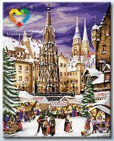 """Картина по номерам """"Рождественские гуляния"""" (400x500 мм; арт. HB4050289)"""