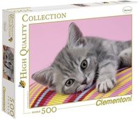 "Пазл ""Серый котенок"" (500 деталей)"