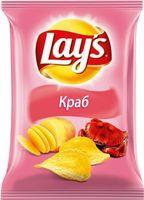 """Чипсы картофельные """"Lay's. Краб"""" (150 г)"""