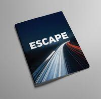 """Обложка на автодокументы """"Escape"""" (арт. KW063-000084)"""