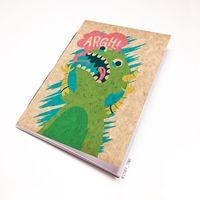 """Блокнот крафт """"Динозавр"""" А7 (арт. 098)"""