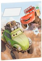 "Тетрадь в линейку ""Cars"" (12 листов)"