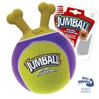 """Игрушка для собак """"Мяч с захватом"""" (18 см; желтый)"""